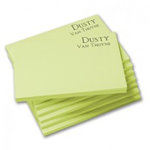Classic Print Sticky Notes